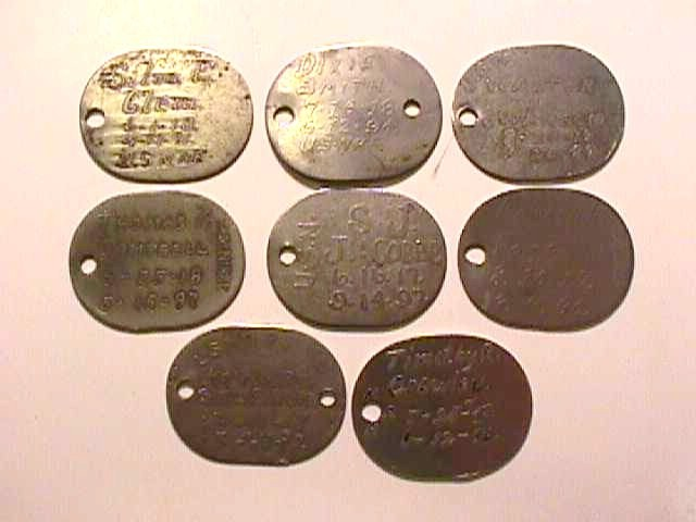 Ww Dog Tags For Sale